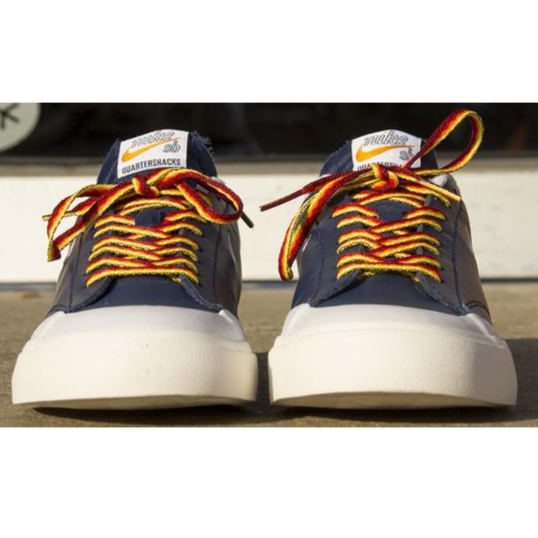 promo code 6a6ca 1aae9 Nike SB Blazer Low x QuarterSnacks