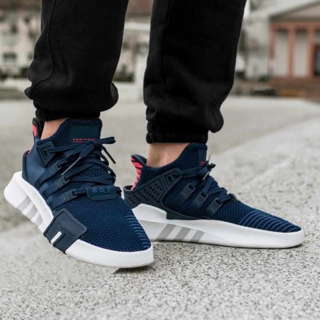 29f7cde79 PO) Adidas EQT Bask Adv Navy, Men's Fashion, Footwear, Sneakers on ...