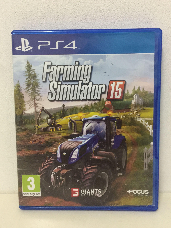 Ps4 Games Farming Simulator 15
