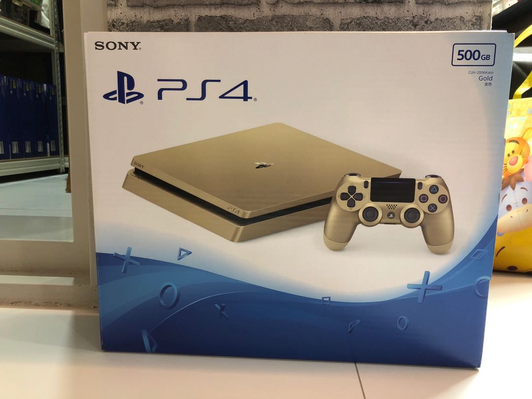 Ps4 Slim Toys Games Video Gaming Consoles On Carousell 500gb Gold Edition Photo