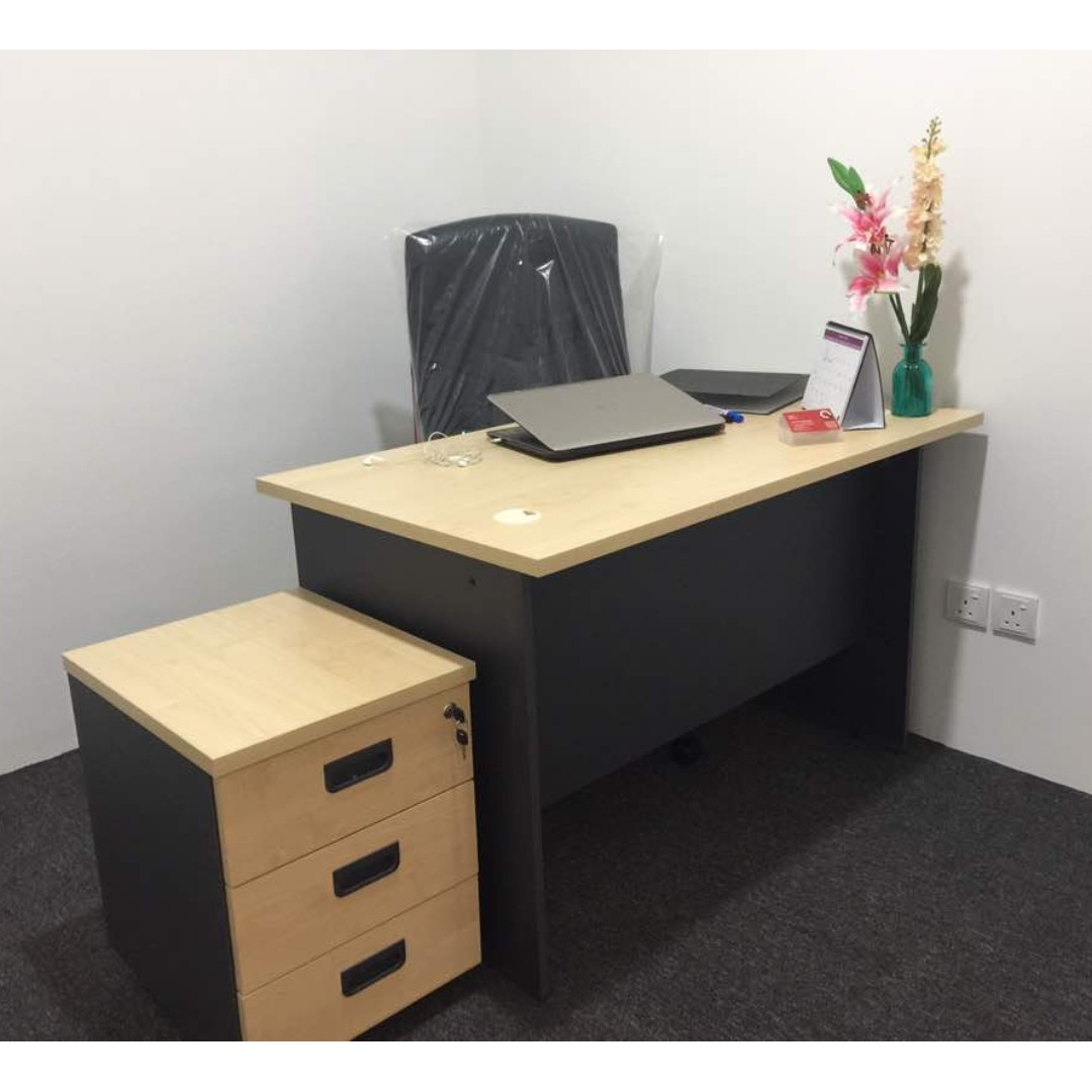 QF Feet Office Writing Table Maple Office Furniture Home - 4 feet office table