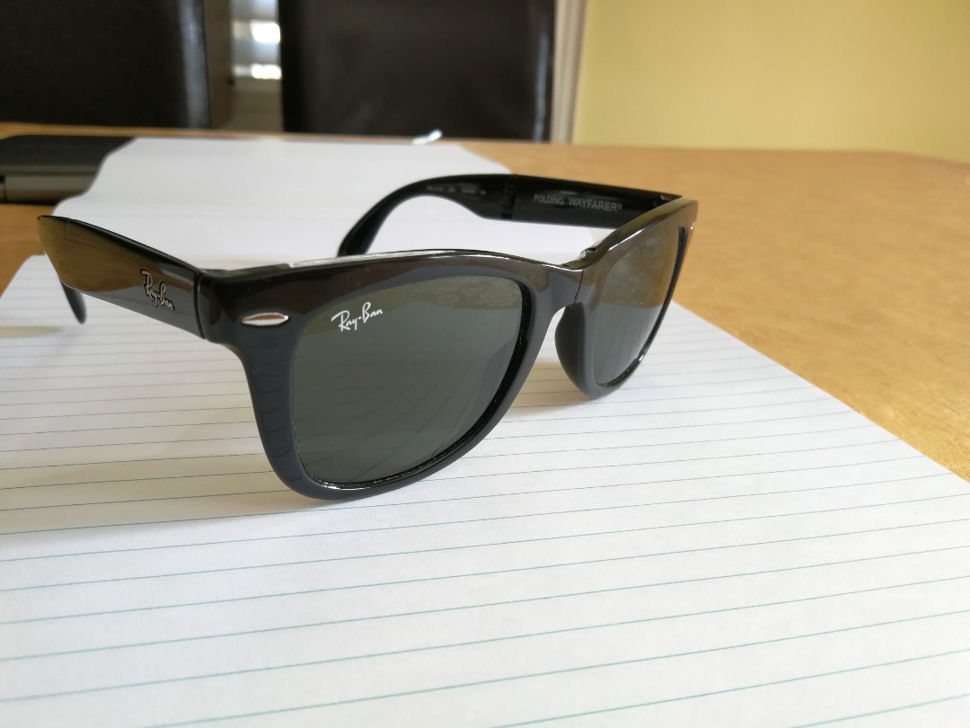 Rb 4105 Folding wayfarer sunglasses