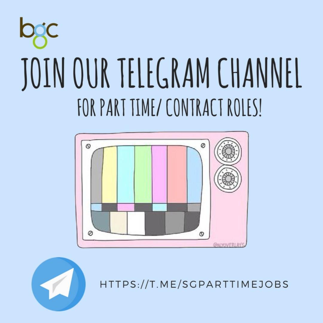 Job Hunt On Telegram With Us!