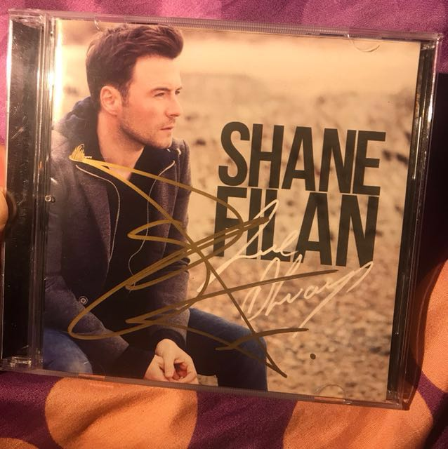 Shane Filan - Love Always ( ALBUM COVER SIGNED BY SHANE FILAN )