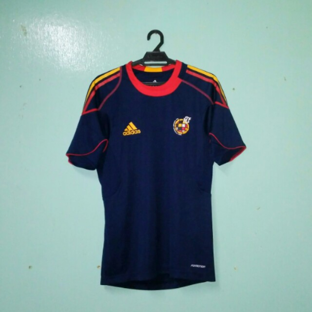 Spain Training Jersey 2010 55317f72c