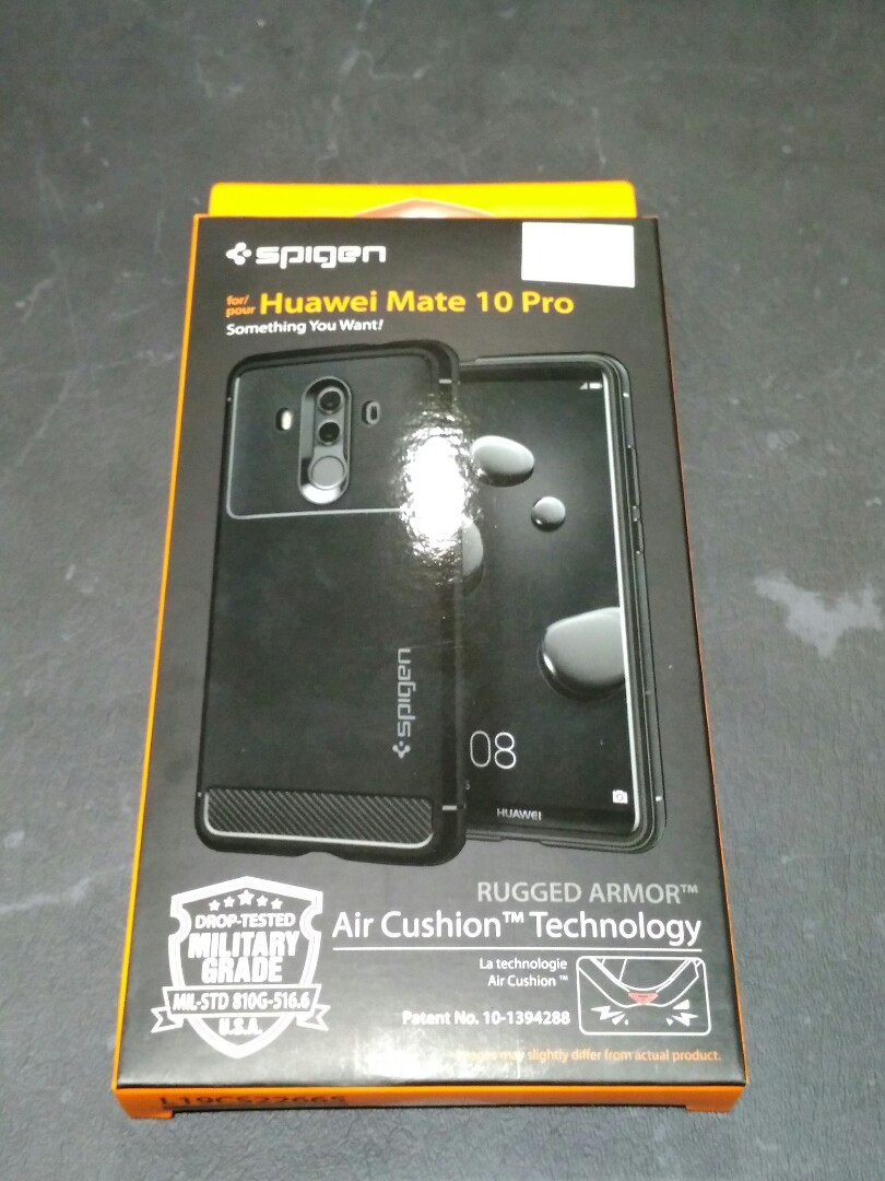 brand new 400f6 775ca Spigen Rugged Armor Case For Huawei Mate 10 Pro