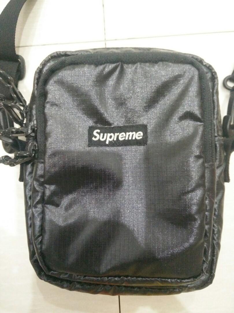 11f7ec1543 Supreme shoulder bag fw17, Men's Fashion, Bags & Wallets, Sling Bags ...