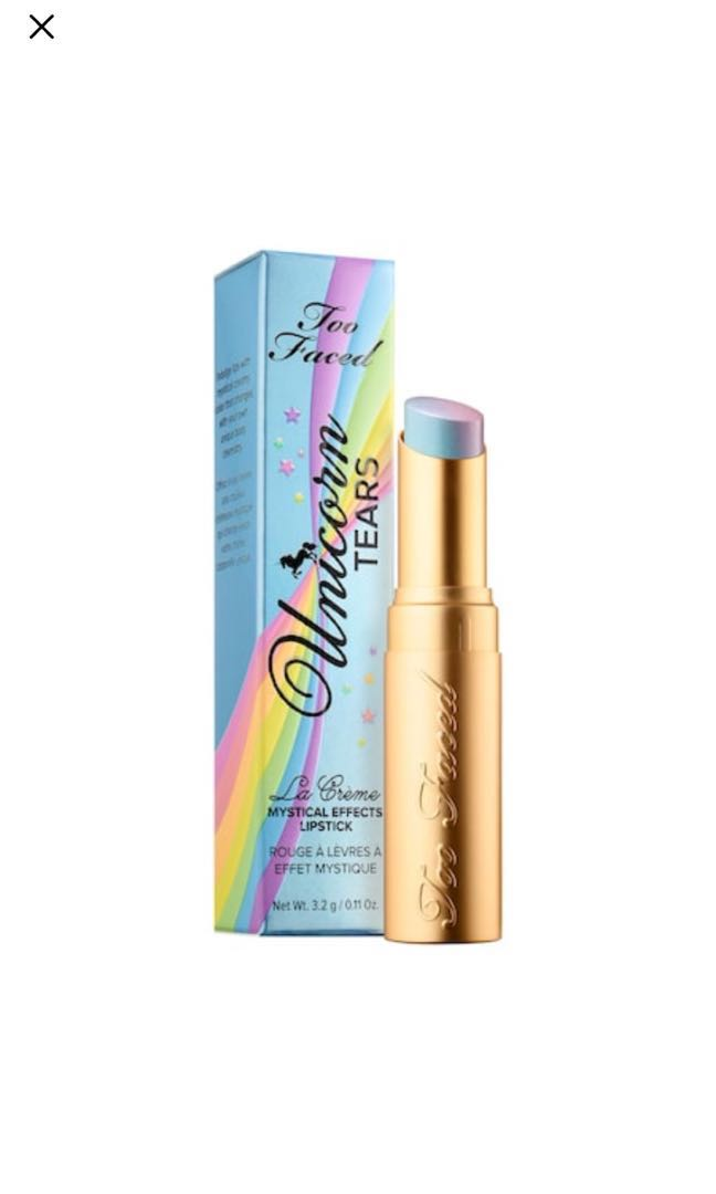 Too Faced Unicorn Tears Magical Effects Lipstick