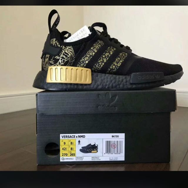 brand new ce7d2 966b9 Versace x adidas NMD, Women's Fashion, Shoes on Carousell