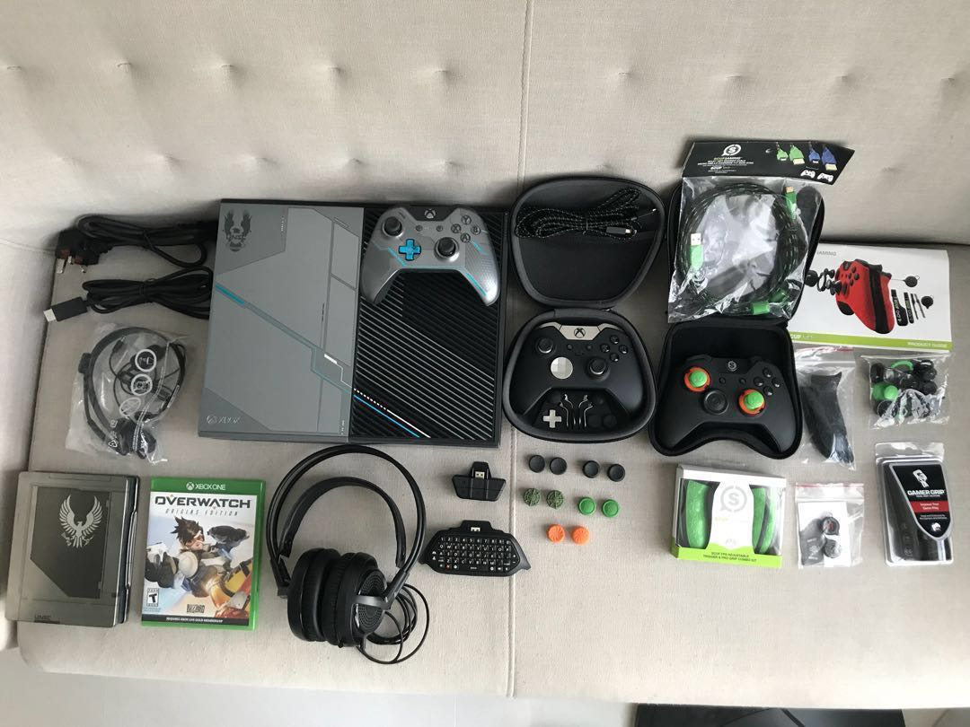 xbox one console overwatch bundle. Black Bedroom Furniture Sets. Home Design Ideas