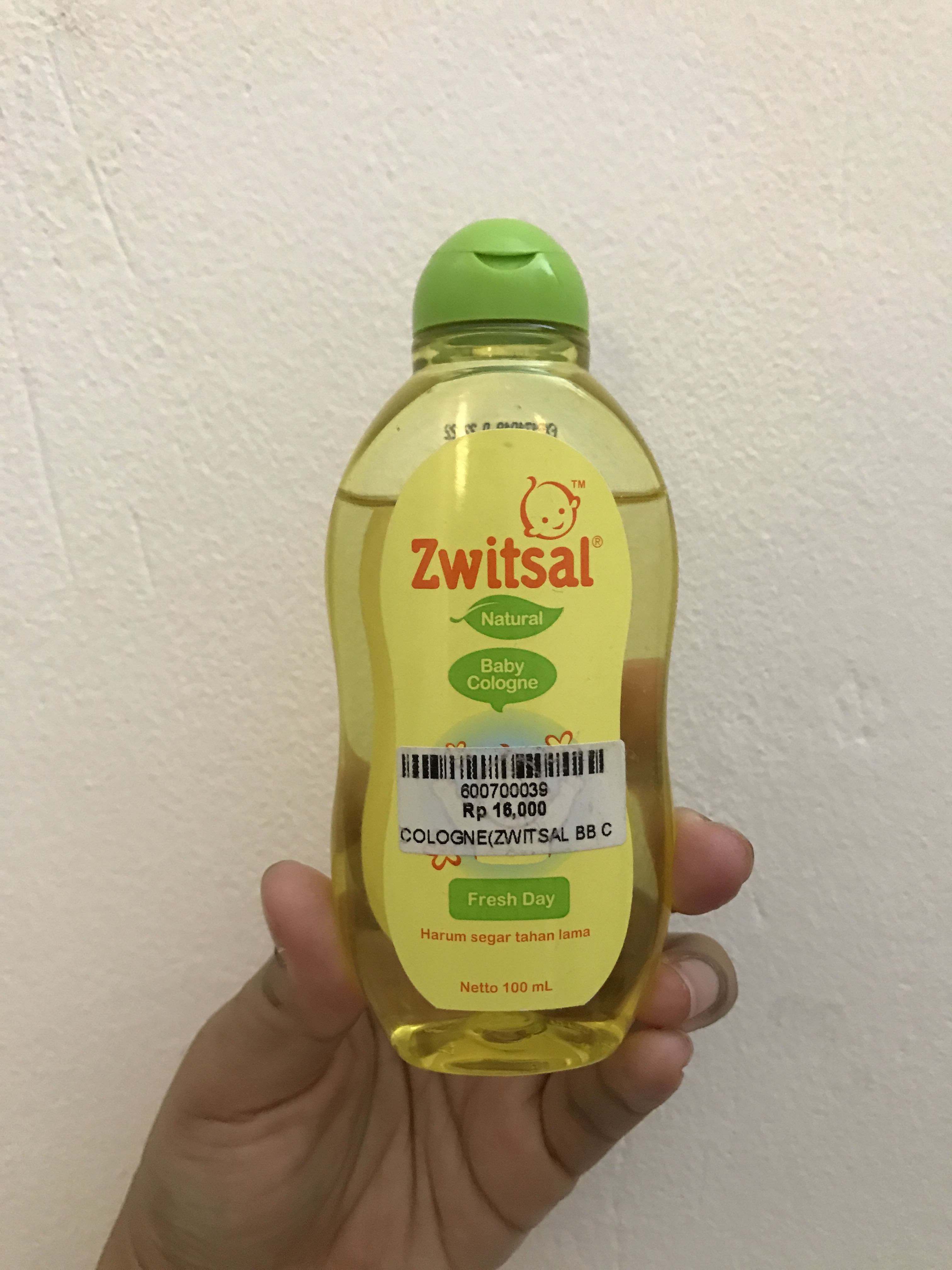 Zwitsal Baby Cologne Natural Fresh Day 100ml Zbb0305 Daftar Harga Classic Photo