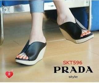 Sandal Wedges Prada