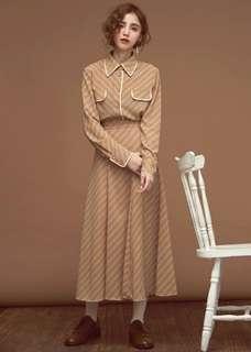 🚚 Dresseum 滴答滴答 上衣+裙子 整套 換
