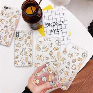 iPhone X Cute Corgi Case