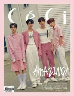 【Korea Buying Service】Ceci Magazine June 2018 (Wanna One Jinyoung Daehwi Minhyun Woojin Cover)