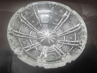 法國製水晶煙灰盅