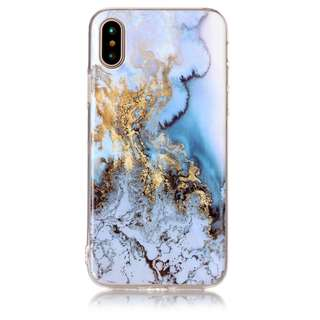 iPhone X Marble TPU Case