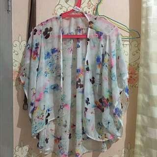 summer kimono outerwear
