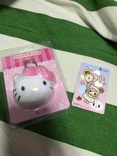 Hello Kitty Ez-charm+Donutella Ezlink