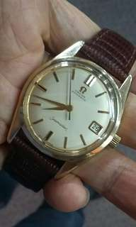 (On hold)Omega Seamaster Gold Cap.