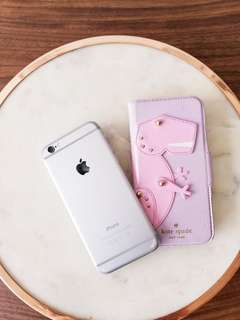 iPhone 6 and cute Kate Spade case!