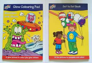Activity books for kids (2 books bundle)
