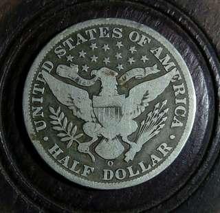 秒殺價!1893-O 年美國半元銀幣