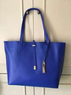 VINCE CAMUTO 紫藍色手袋