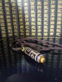 有繩頸鏈🍒高油九眼朱砂天珠🍒 品相完美,珠子老氣, 🈵️朱砂‼️