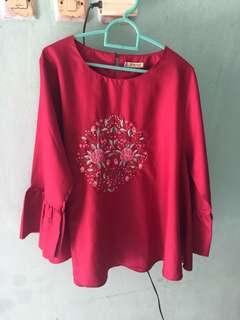 New Blouse Merah