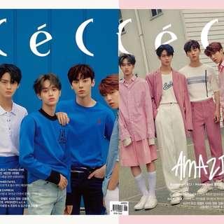 Wanna One x Ceci June Magazine