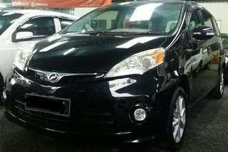 Perodua Alza 1.5 EZI (A) 2013 ( black )