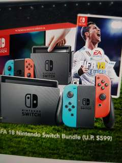 Nintendo Switch bundle fifa 18