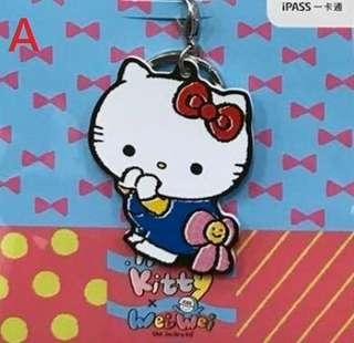🚚 iPass 一卡通 gudetama×WeiWei Hello Kitty、蛋黃哥、布丁狗 造型一卡通三款可挑