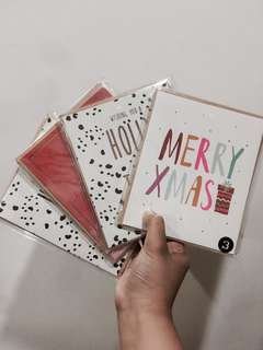 SALE!!!! BUNDLE COTTON ON CHRISTMAS CARDS!!!