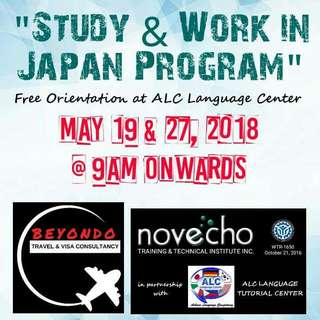 STUDY AND WORK IN JAPAN PROGRAM