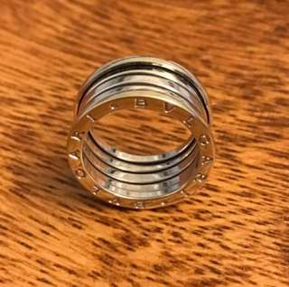 BVLGARI White Gold RING  @Size57