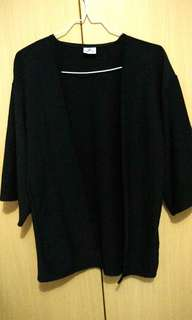 Black Outer / Cardigan Bangkok