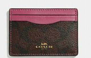 Coach Card Holder 100%new