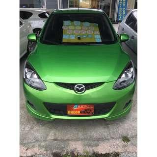 2010年MAZDA 2  女用一手車 日本原裝進口1.5 實跑七萬 有如新車 車庫車