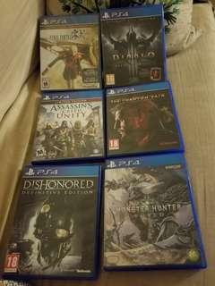 PS4 1TB + 6 games