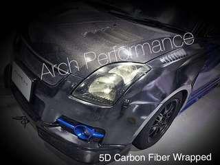 Super Gloss Carbon Fiber Wrap