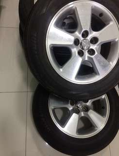 REDUCED Rim size 16 with tyre