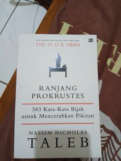 Buku Ranjang Prokrustes