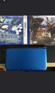 近全新3DS送兩Game