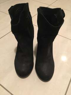Jeffrey Campbell black boots size 35