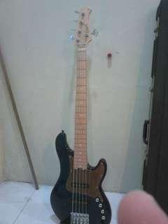 CORT GB75JJ Bass Guitar / gruv gear gig bag