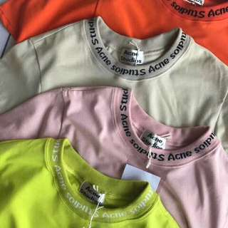 Acne tee in 4 colors