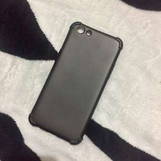 Plain Black Oppo F3 Case