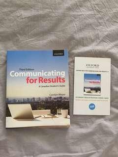CMN 201 Textbook including Ebook